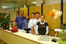 Dr. Knut Ehrlinger und sein Team